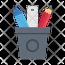 Pencil Jar School Icon