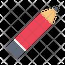 Pencil Pen Stationary Icon
