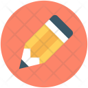 Pencil Tip Crayon Icon