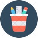 Pencil Case Geometry Icon