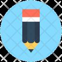 Pencil Crayon Stationery Icon