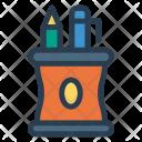 Pencil Jar Color Icon