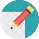 Pencil Sketch Drawing Icon