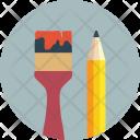 Pencil School Material Icon