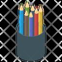 Pencil Case Pencil Box Office Supplies Icon