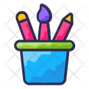 Pencil Box Business Education Icon