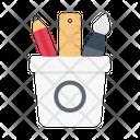 Pencilbox Ruler Pen Icon