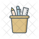Pencil Box Stationery Utensils Icon