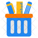 Pencil Case Office Working Icon