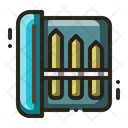 Pencil Case Box Icon