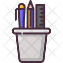 Edit Tools Pencil Case School Material Icon