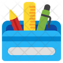 Pencil Case Stationery Pencil Icon