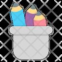 Pencil Case School Education Icon