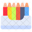 Pencil Color Colors Drawing Icon