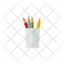 Pencil Container Icon