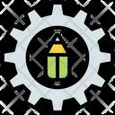 Customize Edit Gear Icon