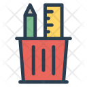 Pencil holder Icon