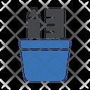 Pencil Jar Stationary Jar Pencil Icon