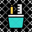 Pencil Jar Icon