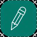 Pencil Pen Drawing Icon