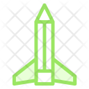 Pencil rocket Icon