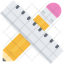 Pencil Ruler Pencil Ruler Icon