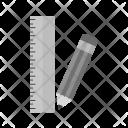 Pencil Ruler Icon