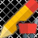 Pencil Shopping Icon