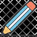 Pencil Writing Stationery Tool Drafting Pencil Icon