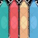 Pencils Crayons Color Pencils Icon