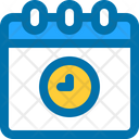 Pending Time Calendar Icon