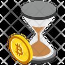 Pending Bitcoin Pending Transaction Bitcoin Transaction Icon