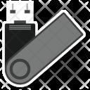 Data Pendrive Storage Icon