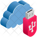 Pendrive Usb Data Icon