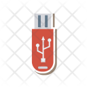 Connector Usb Memory Icon