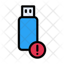 Pendrive Error Icon