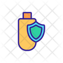 Cyber Security Contour Icon