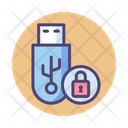 Iencrypted Pendrive Pendrive Security Encrypted Pendrive Icon