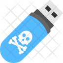 Virus Infected Usb Icon