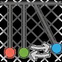 Pendulum Experiment Research Icon