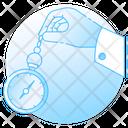 Pendulum Newton Cradle Counterweight Icon