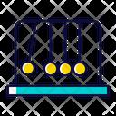 Pendulum Physics Science Icon