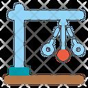 Pendulum Clock Science Icon