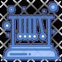 Pendulum Movement Physics Icon