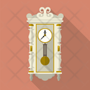 Vintage Pendulum Clock Icon