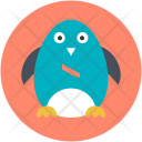 Penguin Bird Snow Icon