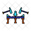 Penguin Trap Hammer Icon