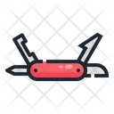 Penknife Knife Kit Icon