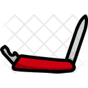 Penknife Tourism Equipment Icon