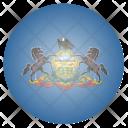 Pennsylvania Us State Icon